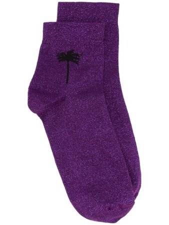 Palm Angels Palm Detail Socks - Farfetch