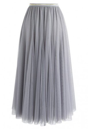 My Secret Weapon Tulle Maxi Skirt in Brown - Tulle Skirt - TREND AND STYLE - Retro, Indie and Unique Fashion