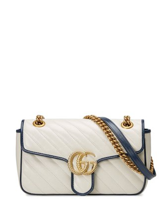 Gucci Small GG Marmont Shoulder Bag - Farfetch
