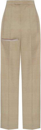 Aleksandre Akhalkatsishvili High-Rise Cotton-Blend Pants