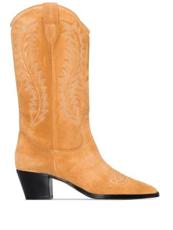 Paris Texas Embroidered 55mm Cowboy Boots - Farfetch