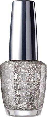 OPI Infinite Shine Nail Polish, Dreams On A Silver Platter