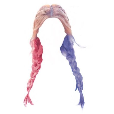 Harley Quinn hair omg