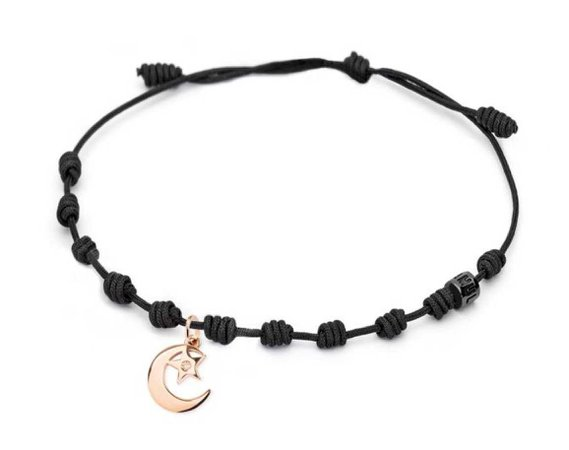 Crescent Moon Charm Bracelet