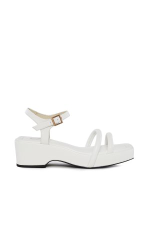 Suzanne Rae Puffy Strap Platform Sandal
