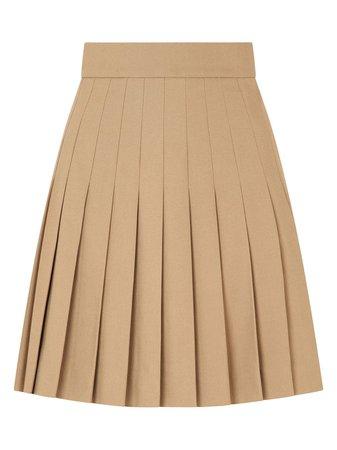 Dolce & Gabbana Short Pleated Cotton Skirt - Farfetch