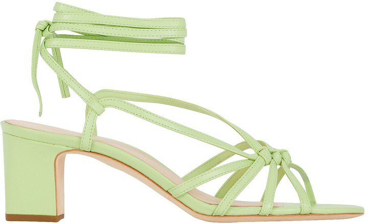 Libby Knotted Leather Sandals