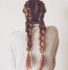 brown braided hair - Google Search