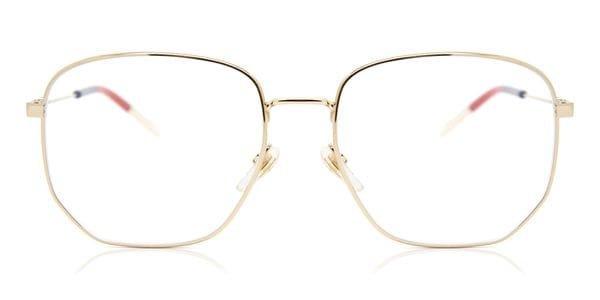Gucci GG0396O 002 Glasses Gold | SmartBuyGlasses New Zealand