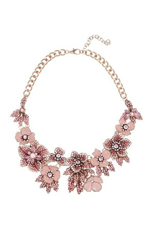 Eye Candy Los Angeles   Amy Crystal Floral Necklace   Nordstrom Rack