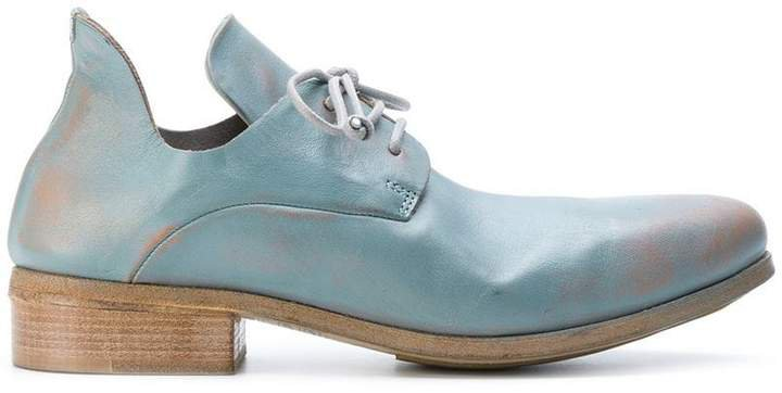 chunky oxford shoes