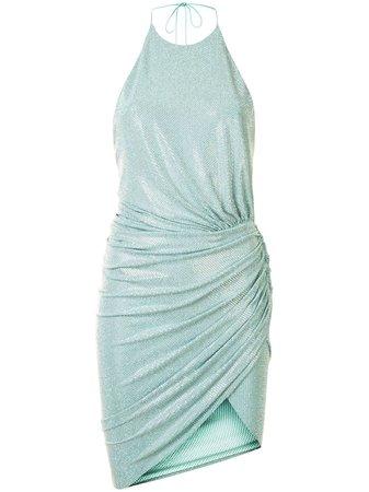 Alexandre Vauthier, Draped Crystal Mini Dress