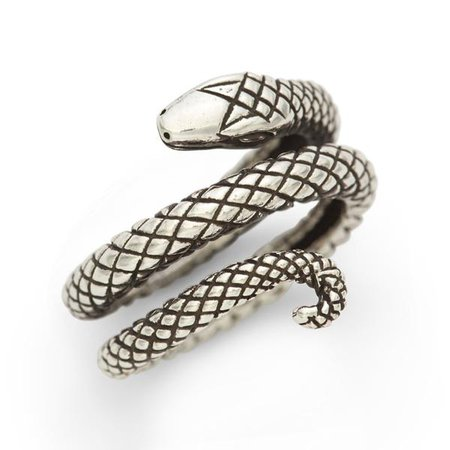 Sterling Snake Ring – RockLove Jewelry
