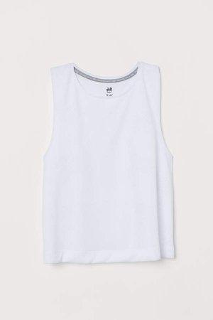 Sports Tank Top - White