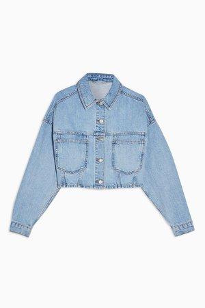 Cropped Denim Jacket | Topshop