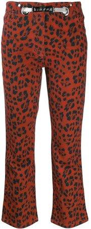 Miaou leopard Tommy trousers