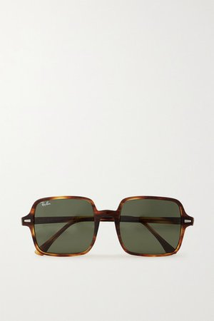Ray-Ban | Square-frame tortoiseshell acetate sunglasses | NET-A-PORTER.COM