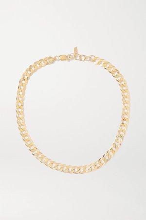 Gold Gold necklace | Loren Stewart | NET-A-PORTER
