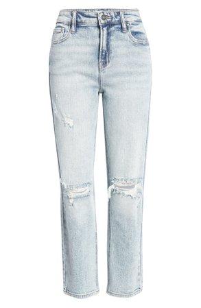 HIDDEN JEANS Ripped Slim Boyfriend Jeans | Nordstrom