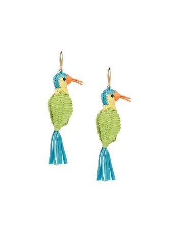 Prada Bird Motif Earrings - Farfetch