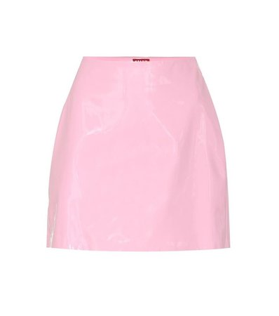 Murray Faux-leather Miniskirt