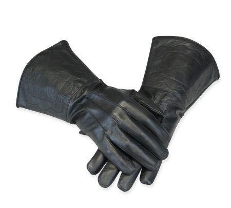 steampunk leather gloves