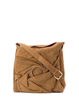 Chalayan Crushed Effect Shoulder Bag - Farfetch