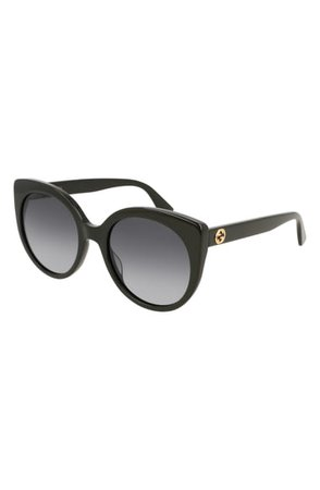 Gucci 55mm Gradient Cat Eye Sunglasses | Nordstrom