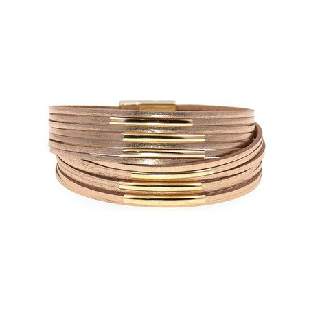 WELLMORE 10 Colors Fashion copper pipe charm Leather Bracelets For Women Men's wrap Bracelets Couples fashion Jewelry wholesale-in Браслеты с шармами from Украшения и аксессуары on Aliexpress.com | Alibaba Group