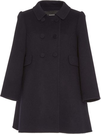 Marc Jacobs Double-Breasted Wool-Blend Peacoat