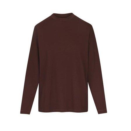 Boyfriend Long Sleeve T-Shirt - COCOA   SKIMS