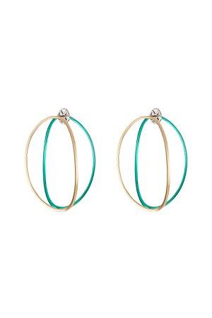 Big Ear-Clipse Hoop Earrings in 18kt Gold Gr. One Size