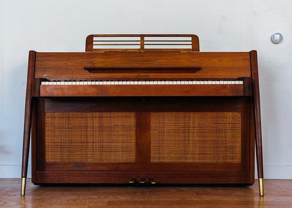 Baldwin Acrosonic Piano 1961 Mid Century/Danish Modern