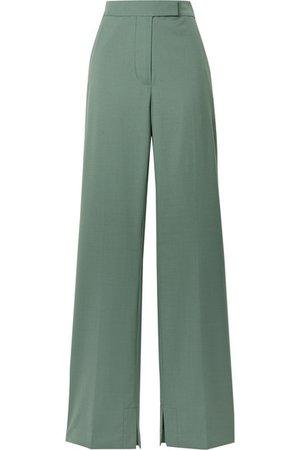 3.1 Phillip Lim | Wool-blend crepe flared pants | NET-A-PORTER.COM