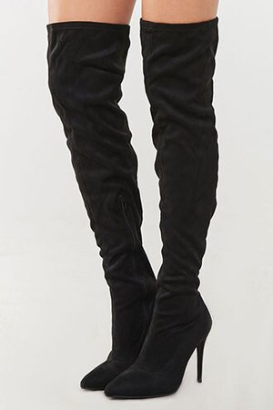 Thigh-High Stiletto Boots | Forever 21