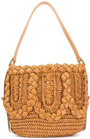 Woven Raffia Shoulder Bag