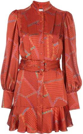 Lishan flared dress