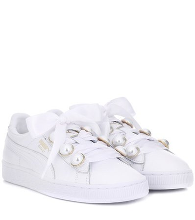 Basket Bling leather sneakers