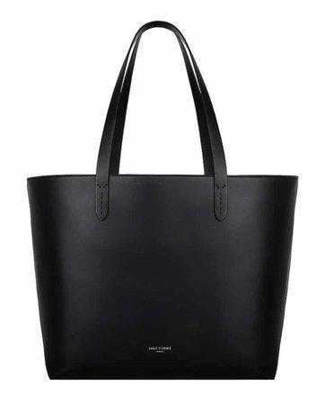 BLACK TOTE BAG - Sage Femme Italy