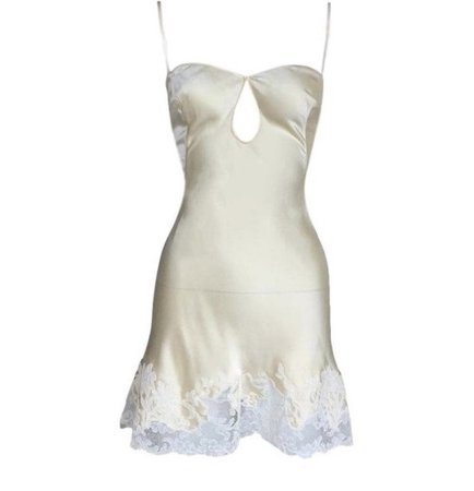 1999 Dior silk slip dress