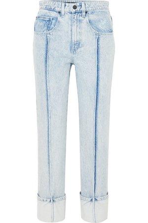 Alexander Wang   High-rise slim-leg jeans   NET-A-PORTER.COM