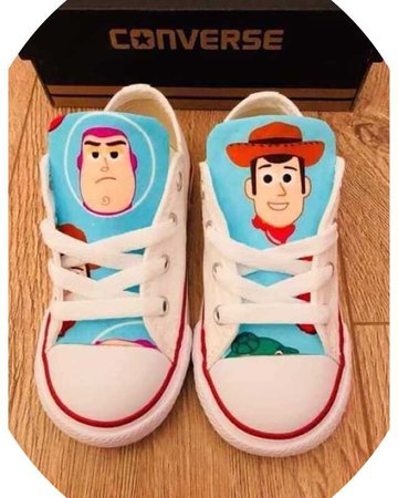 custom shoes toy story