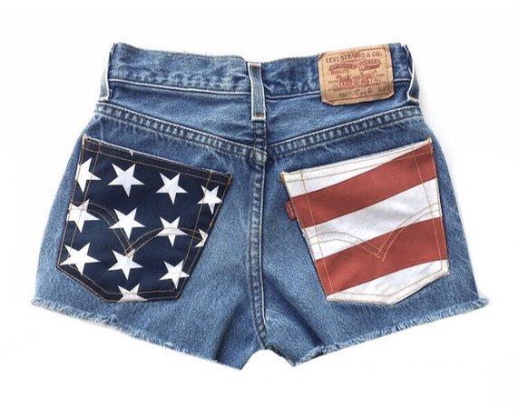american flag daisy dukes