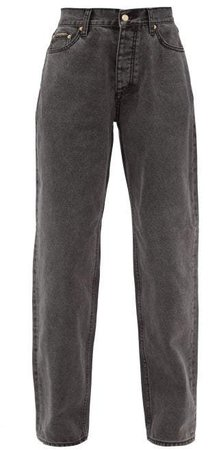 Benz Straight Leg Jeans - Womens - Black