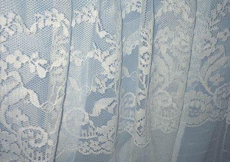 pastel blue aesthetic lace pale