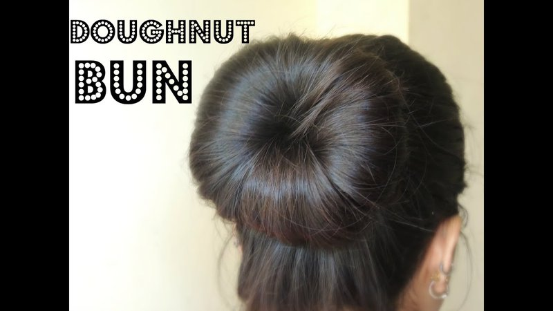 donut designed hair style - Google Search