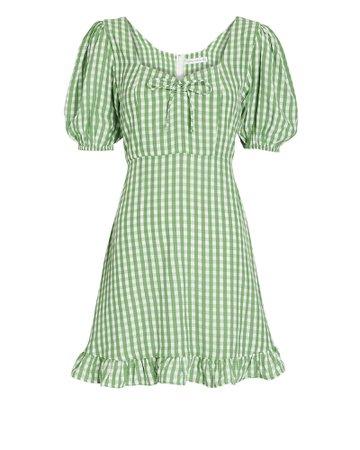 FAITHFULL THE BRAND Agathe Gingham Dress | INTERMIX®