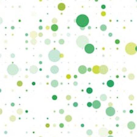 green multi shade dots