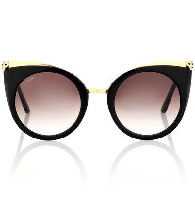 Panthère De Cartier Cat-Eye Sunglasses - Cartier Eyewear Collection | mytheresa