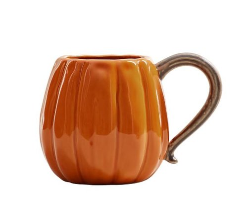pottery barn pumpkin mug